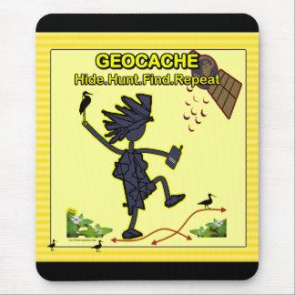 Geocache Hide Hunt Find III Mouse Pad