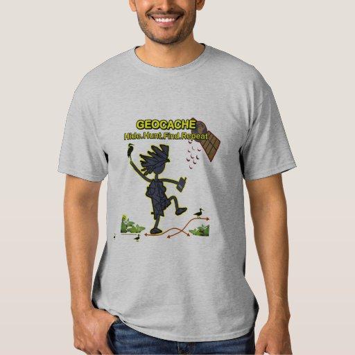 Geocache Hide Hunt Find III T-Shirt