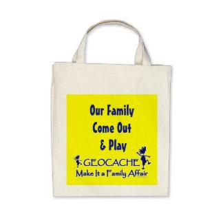 Geocache - Make It a Family Affair Bag