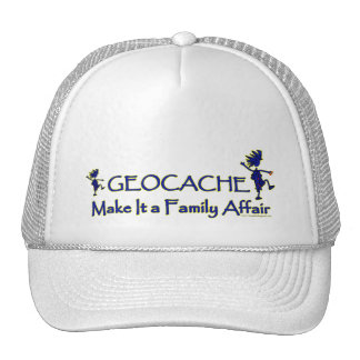 Geocache - Make It a Family Affair Trucker Hat