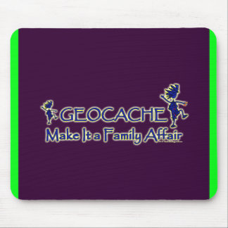 Geocache - Make It a Family Affair Mouse Pad