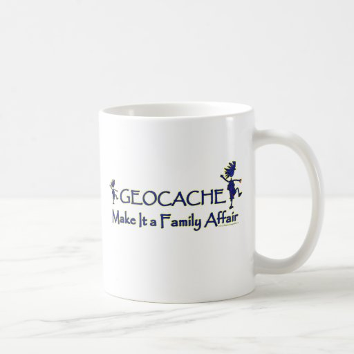 Geocache - Make It a Family Affair Classic White Coffee Mug