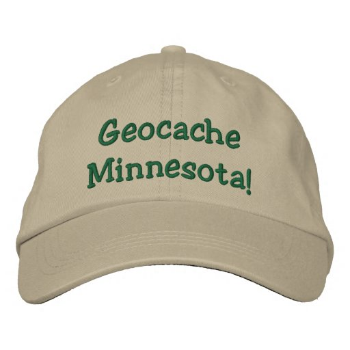 Geocache Minnesota Embroidered Hat Embroidered Hat
