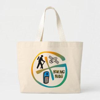 Geocache Minnesota Swag Bag Jumbo Tote