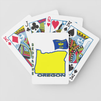 GEOCACHE  OREGON BICYCLE PLAYING CARDS