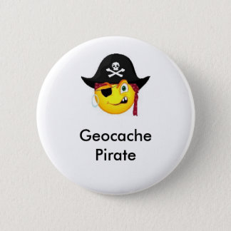 Geocache Pirate GeoSwag Pin
