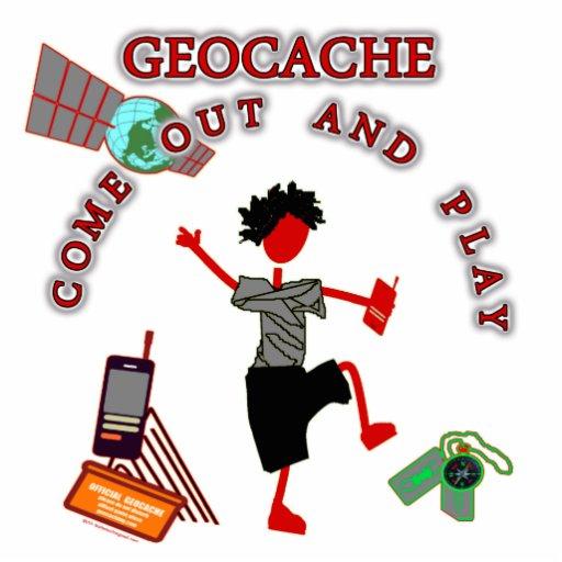 Geocache sale y juega fotoescultura vertical