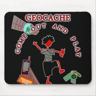 Geocache sale y juega tapetes de raton
