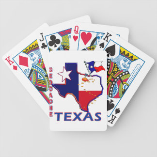 GEOCACHE TEXAS BICYCLE PLAYING CARDS