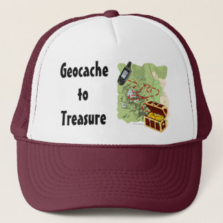 Geocache to Treasure hat