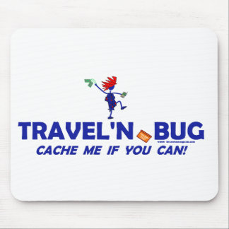 Geocache Travel'n Bug Mouse Pad