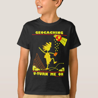 Geocache U Turn Me On T-Shirt