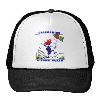 Geocache U Turn Queen Mesh Hat