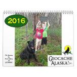 ¡GeocacheAlaska! Calendario 2016