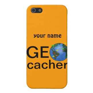Geocacher Earth Geocaching Custom iphone 4 Cover