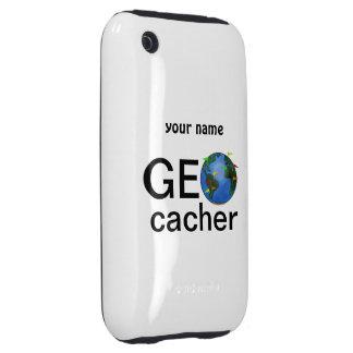 Geocacher Earth Geocaching Custom iphone Case