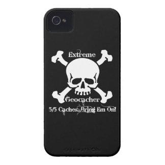 ¡Geocacher extremo… 5/5 que deposita… trae el Em Case-Mate iPhone 4 Carcasa