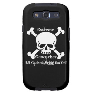 Geocacher extremo galaxy SIII protectores
