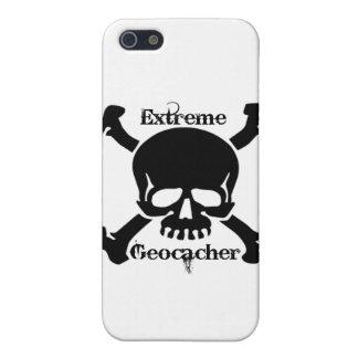 Geocacher extremo iPhone 5 cobertura