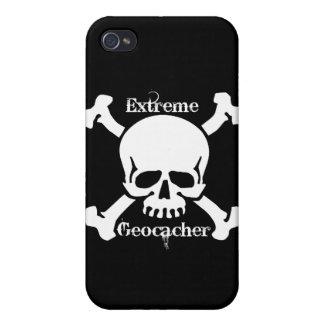 Geocacher extremo iPhone 4 protector
