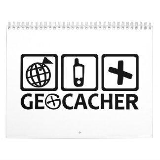 Geocacher Geocaching Calendar