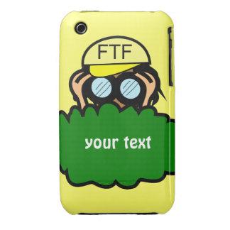 Geocacher Geocaching Custom iphone 3 Name Case