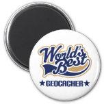 Geocacher Gift 2 Inch Round Magnet