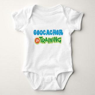 Geocacher in Training Kids Shirt