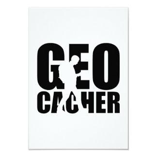 "Geocacher Invitación 3.5"" X 5"""
