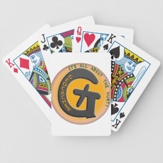 GEOCACHER - IT'S ALL ABOUT THE HUNT! BICYCLE PLAYING CARDS