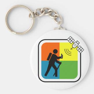 GeoCacher Keychain