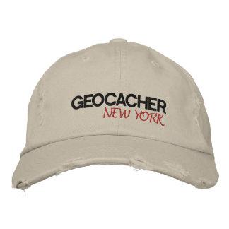 Geocacher New York Embroidered Baseball Cap
