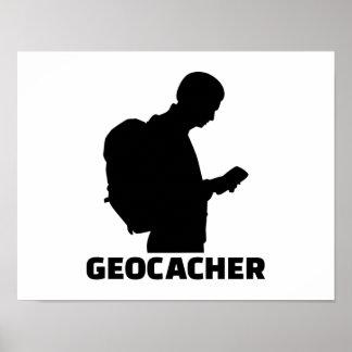 Geocacher Póster