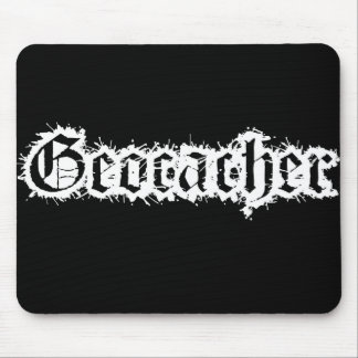Geocacher Static Design Mouse Pad