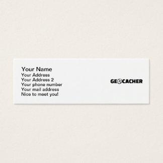 Geocacher Tarjetas De Visita Mini