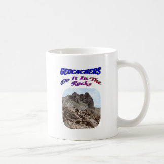 Geocacher's Do It In The Rocks Coffee Mug