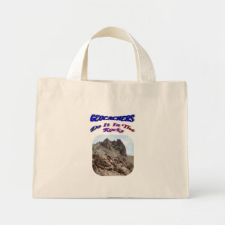 Geocachers lo hace en el BOLSO de las rocas Bolsas