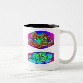 Geocaching 250 Finds Coffee Mug