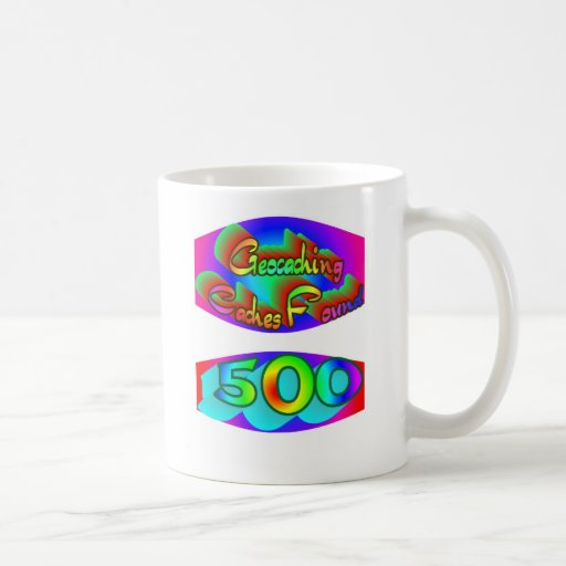 Geocaching 500 Finds Coffee Mug