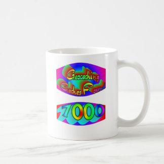 Geocaching 7000 Finds Mug