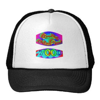 Geocaching 7000 hallazgos gorras de camionero