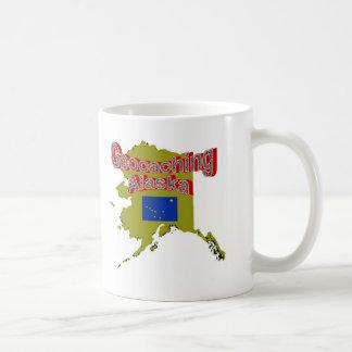 Geocaching Alaska Cup Classic White Coffee Mug