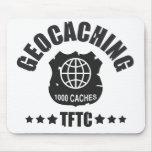 Geocaching Award 1000 Mouse Pad