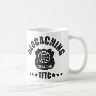 Geocaching Award 1000 Classic White Coffee Mug