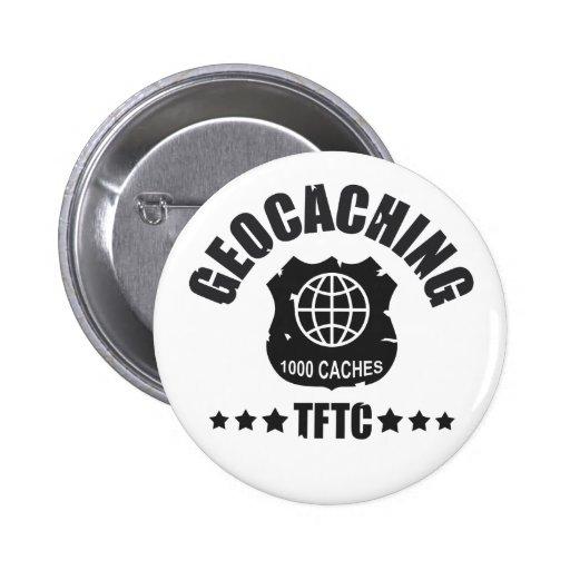 Geocaching Award 1000 Pin
