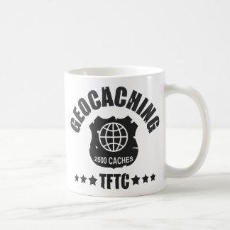 Geocaching Award 2500 Classic White Coffee Mug