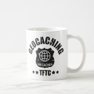 Geocaching Award 500 Coffee Mug