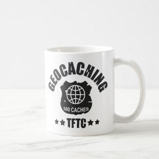 Geocaching Award 500 Classic White Coffee Mug
