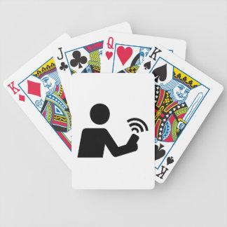 Geocaching Bicycle Playing Cards