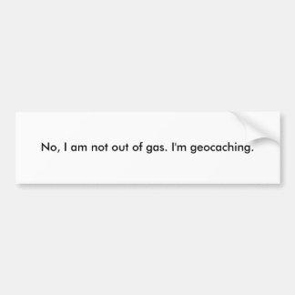 Geocaching Bumper Sticker Car Bumper Sticker